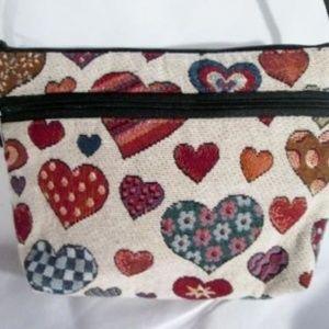DANNY K. CALIFORNIA USA HEART Tapestry Shoulder